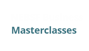 NEBSF Masterclass logo - 2 day, fully funded Masterclass sessions across the North East.