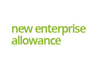 New Enterprise Allowance logo - support and advice for unemployed people in Northumberland to start their own business.
